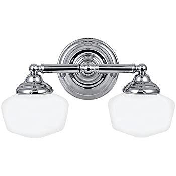 Sea Gull Lighting 44437-05 Academy Two-Light Bath or Wall Light ...