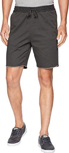 - RVCA Men's a.T. Dayshift Elastic Short, Pirate Black, XL