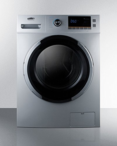 """Summit SPWD2201SS 24"""" Washer/Dryer Combo with 2 cu. ft. C..."""