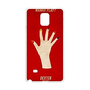 Dexter Blood Samsung Galaxy Note 4 Cell Phone Case White PhoneAccessory LSX_665100