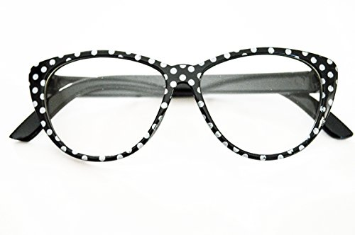 Brittany's Black Dot Glasses Compatible With American Girl Dolls- 18 Inch Doll Glasses -