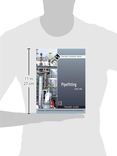 Pipefitting Level 1 Trainee Guide Paperback 3rd Edition Nccer Contren Learning