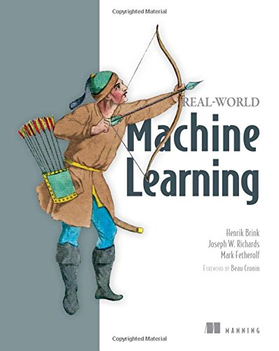 Book cover of Real-World Machine Learning by Henrik Brink