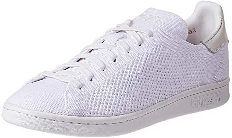 new styles 41eed ec18f Adidas Stan Smith Prime knit Sneaker for Men - White 45 1/3 ...