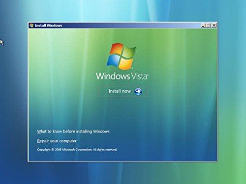 Windows Vista 32 & 64 bit Reinstall Install DVD Disc Starter Home Basic Business Ultimate - 2017 Driver DVD Included - 2 Disc Installation Kit