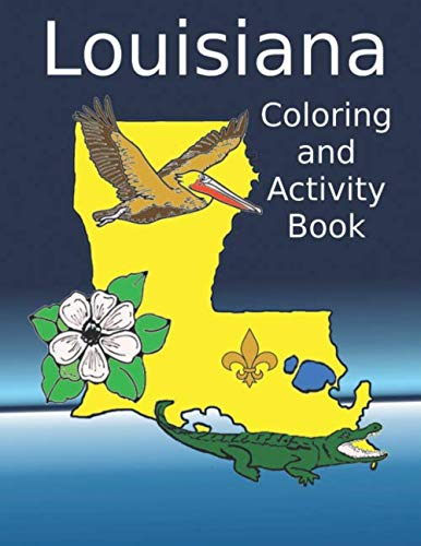 Louisiana Coloring and Activity Book
