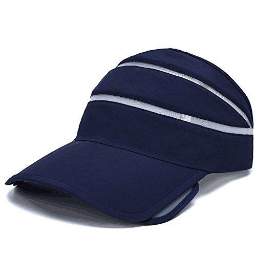 Golf Tennis Visor Cap (Flyou Adjustable Visor Sun Hat Sports Cap Golf Tennis Beach Summer hats)