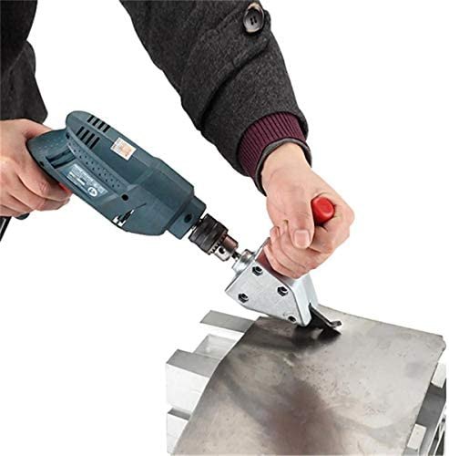 Professional Electric Drill Metal Sheet Cutter Adapter Iron Wire Netting Nibbler Cutter Cutters
