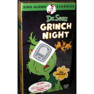 Dr. Seuss: It's Grinch Night (Sing-Along Classics) [VHS]]()