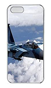 iPhone 5s Cases & Covers - F-15 Eagle Fighter 2 Custom PC Soft Case Cover Protector for iPhone 5s - Transparent