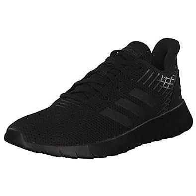 adidas Asweerun Men's Road Running Shoes, Black, 9 UK (43 1/3 EU)
