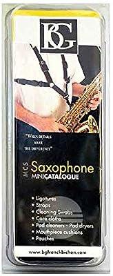 BG S42SH alto/tenor saxofón Arnés de niño: Amazon.es: Instrumentos ...