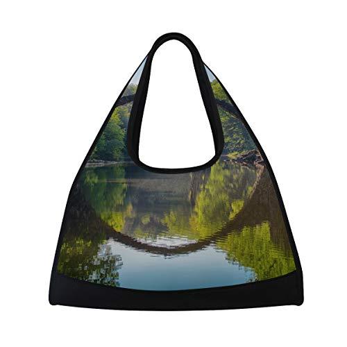 (LAZEN Tennis Bag Badminton Bag Ping-Pong Bag Gym Bag Travel Handbag High Capacity)