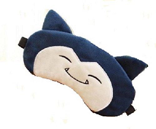 CJB Cute Poket Monster Snorlax Eye Mask for Sleeping Travel Games (US Seller)]()