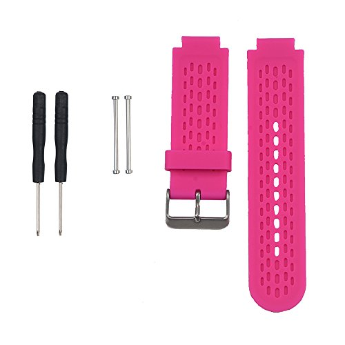 AUTRUN Band for Garmin Approach S2 /S4, Silicone Wristband Replacement Watch Band for Garmin Approach S2/S4 GPS Golf Watch (Rose)