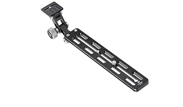 Leofoto VR-250 Camera /& Long Tele QR Plate Mount Arca//RRS Lever Clamp Compatible Ideal for 300mm 400mm 500mm Lens