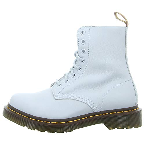 Dr. Martens Women's 1460 Pascal 8 Eye Boots, Blue Moon, 8 M US
