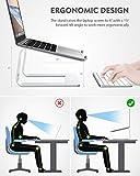 Nulaxy Laptop Stand, Ergonomic Aluminum Laptop