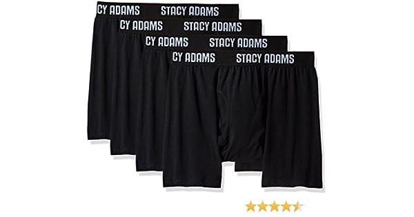 Stacy Adams Mens 4pack Cotton Brief L Pick SZ//Color.