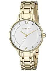 Skagen Women's SKW2322 Anita Analog Display Analog Quartz Gold Watch