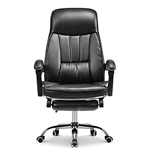 - Dall Swivel Office Chair Adjustable Height Armrest Computer Desk Chair Reclining Durable Stable (Color : Black)