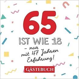 Geburtstagsgeschenk 65 jahrigen