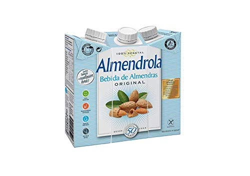 ALMENDROLA Bebida de Almendras Original 250ml [caja de 8 packs de 3x250ml]