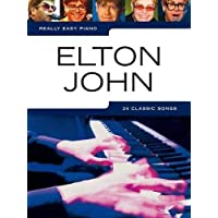 Really Easy Piano: Elton John [Lingua inglese]