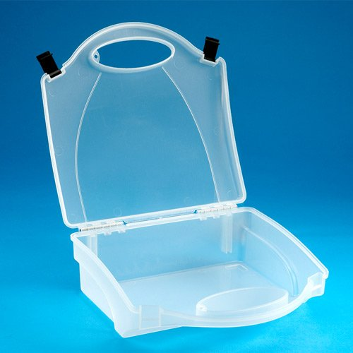 Steroplast 8152EB Empty Plastic Clear First Aid Case
