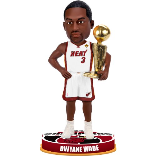 (Forever Collectibles Dwyane Wade #3 Miami Heat 2012 NBA Finals Champions 8
