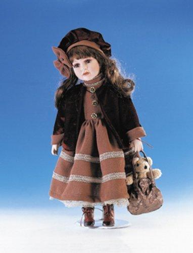 Large Porcelain Doll - Ellis Island large Dolls Porcelain Collection. Limited Edition