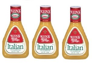 Ken's Steakhouse Dressing & Marinade, Italian, 16 Fl Oz 3 (Kens Italian Dressing)