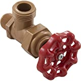 King Brothers Inc. HBM-0500-T 1/2-Inch Threaded Acetal 45 Male Hose Bibb, Bronze