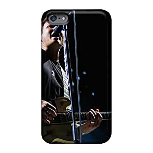 Bumper Cell-phone Hard Covers For Iphone 6plus (ept3783svWt) Provide Private Custom HD Blink 182 Band Series