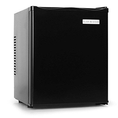 Klarstein MKS-10 Minibar silencieux (design soigné, format compact de 38cm de largeur, poids léger, capacité de 24L, classe énergétique B, 0dB) - noir