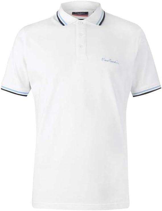 Pierre Cardin Camiseta azul marino para hombre con modelo polo ...