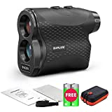 SAPLIZE Golf Laser Rangefinder BH600N 650 Yards Distance Hunting Waterproof Speed Free Battery Binoculars Carrying Pouch Fog Mode Pinsensor