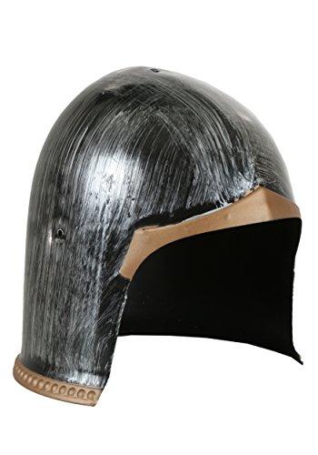 HMS Men's Gladiator Helmet, Black, One Size (Halloween Gladiator Accessories)