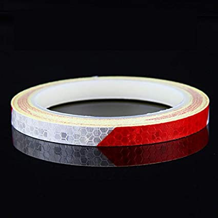 Fluorescent MTB Bike Reflective Stickers Adhesive Tape Safety Reflective Tape