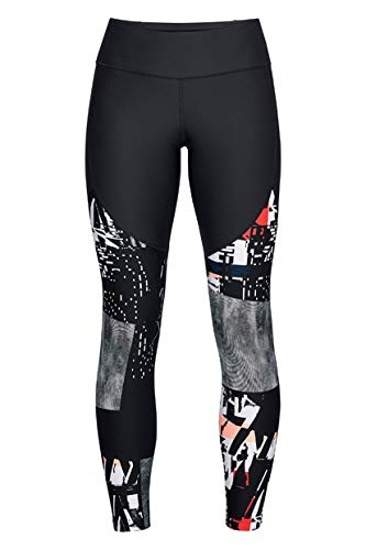 Under Armour Women's Vanish Printed Leggings, Black (002)/Tonal, X-Large