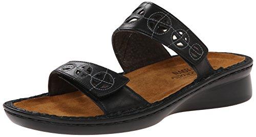 Naot Women's Cornet Dress Sandal, Black, 40 EU/9 M US