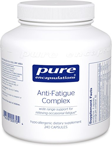 Pure Encapsulations - Anti-Fatigue Complex - Hypoallergenic Dietary Supplement for Relief of Occasional Fatigue* - 240 Capsules