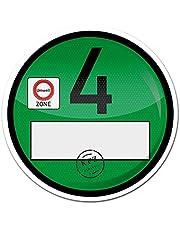 Finest-Folia 1 folia samoprzylepna Euro 4 plakietka ekologiczna strefa sapu (R020)