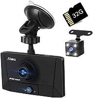 ライブレコーダー 最新版 車内外同時録画 リアカメラ付き 4.0インチ画面 1080PフルHD 駐車監視 170°広視野角 常時録画 G-s