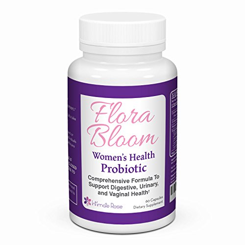 Probiotics For Women - Ultimate Flora Bloom Probiotic Supplement for Women - Healthy Vaginal Odor Probiotic - Formula for pH Balance, UTI Treatment, BV Treatment, GBS, Bladder, And Urinary Health