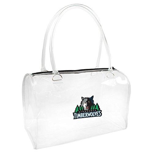 nba-minnesota-timberwolves-womens-bowler-handbag-one-size-clear