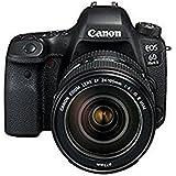 Canon佳能 EOS 6D Mark II/6D2单反数码相机 全画幅高端单反相机 6D升级款二代 附送Aisying单反包+钢化膜 (套餐版, 6D2(24-105 II USM))