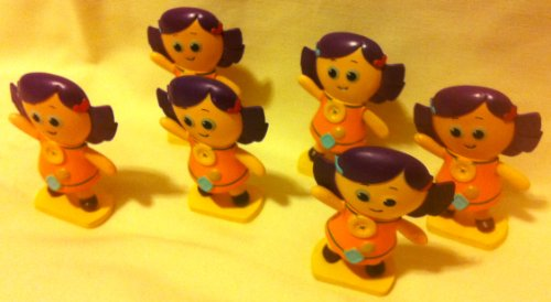 Disney Pixar Toy Story, Party Favor Favors Give Aways Goody Bag Fillers Set of 6 Dolly 1.5