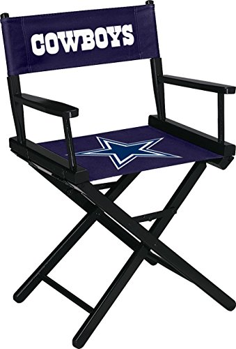 Imperial Officially Licensed NFL Merchandise: Directors Chair (Short, Table Height), Dallas Cowboys