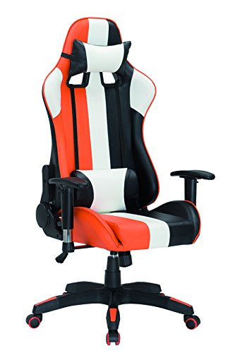 41RwNJJkhsL - ViscoLogic-Series-Sprint-Gaming-Racing-Swivel-Office-Chair-Black-Orange-White